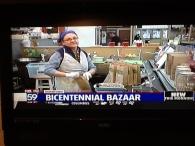 Bicentennial Bazaar on Fox 59 007
