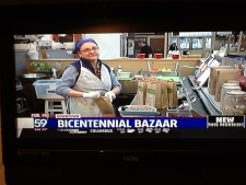 Bicentennial Bazaar on Fox 59 007