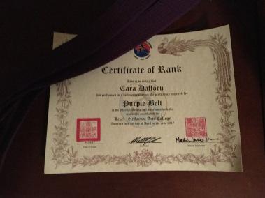 Purple Belt 001