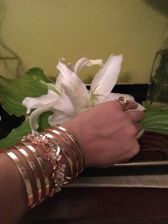 Rose Gold Bracelet 002